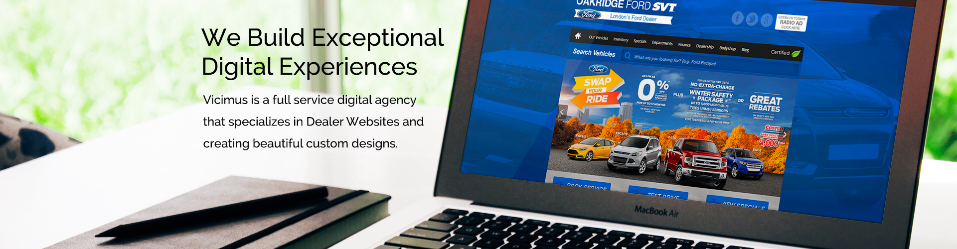We Build Exceptional Digital Experiences